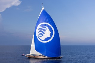 Super yacht ATALANTE under sail - Photo by Rick Tomlinson (2)